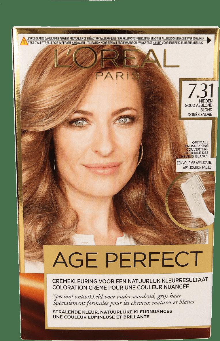 Loréal Exc Age Perfect 731 Midden Goud Asblond