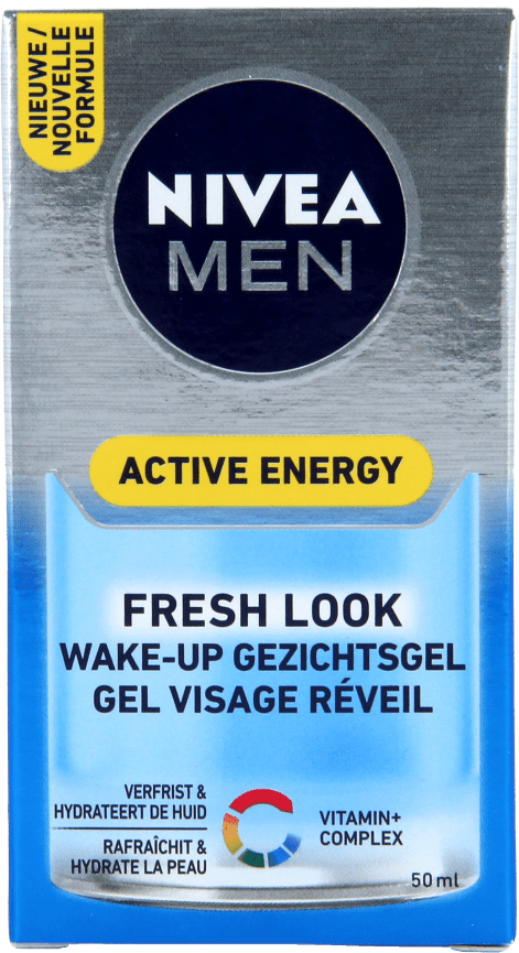 Nivea Men Gezichtsgel Skin Energy Q10 Wake-up