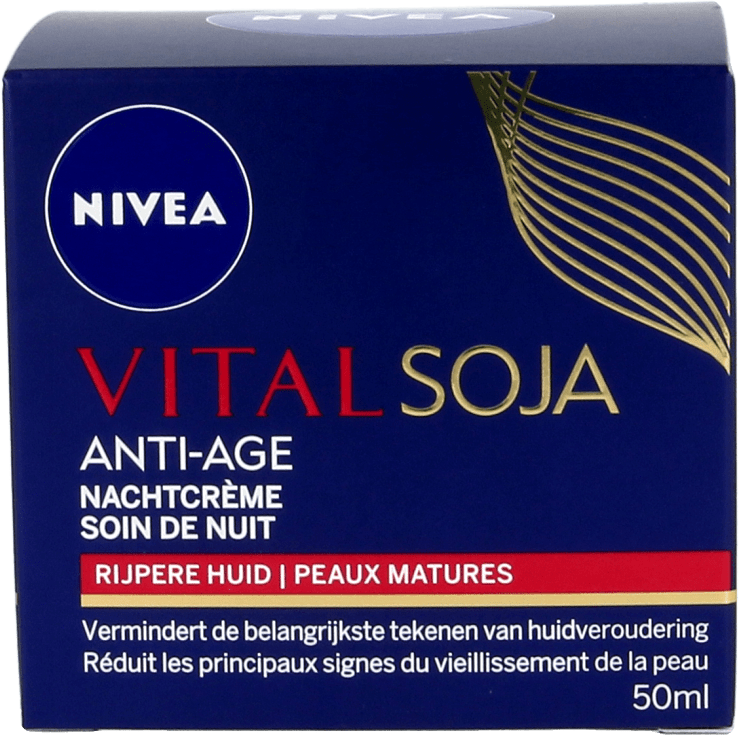 Nivea Vital Soja Nachtcrème Anti-Age