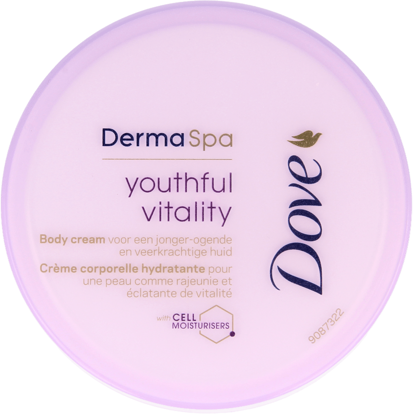 Dove Bodycrème DermaSpa Youthful Vitality