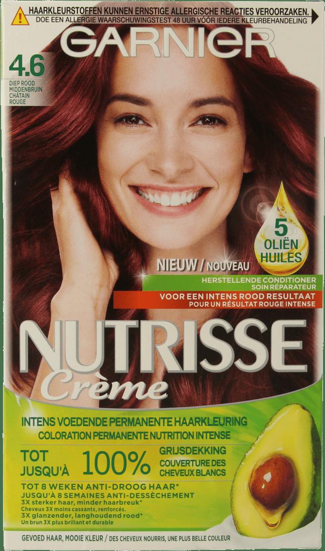Garnier Nutrisse Crème 46 Diep Roodbruin Da