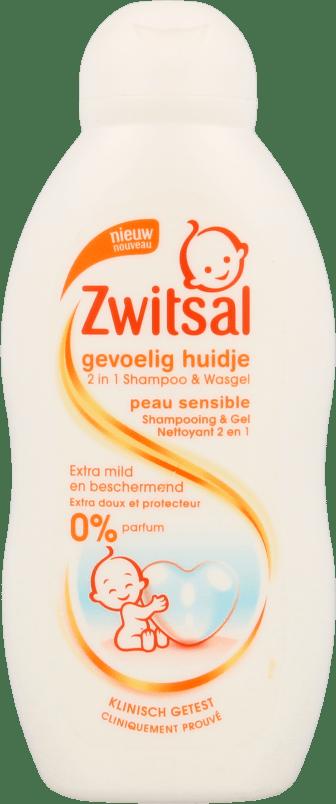 Zwitsal Baby Shampoo & Wasgel Gevoelig Huidje