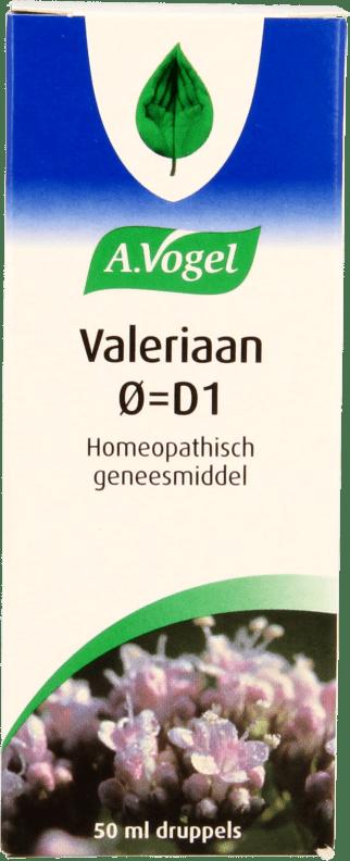 A. Vogel Valeriaan 0 =D1 druppels