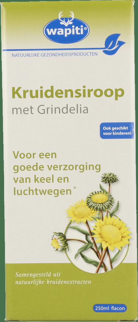 Wapiti Kruidensiroop Met Grindelia