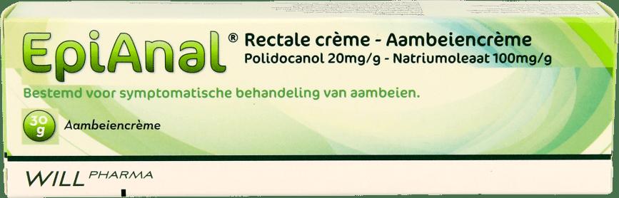 Epi Anal Aambeiencrème tube