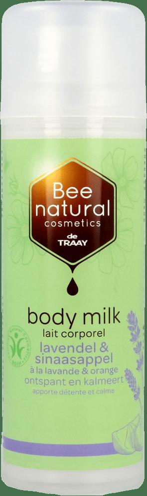 de Traay Bee Natural Bodymilk lavendel sinaasappel