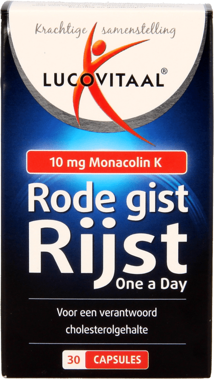 Lucovitaal Rode Gist Rijst Capsules