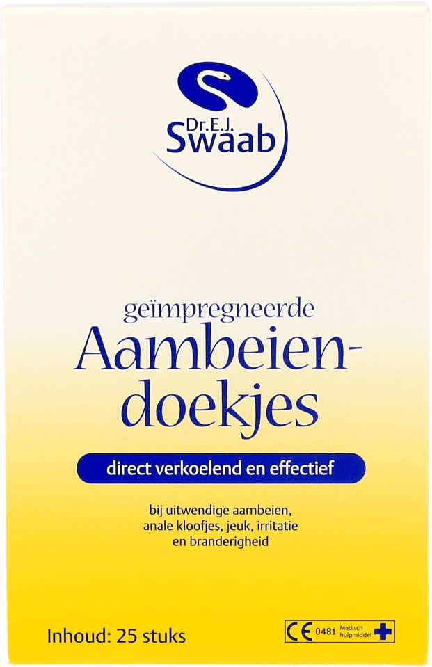 Dr. Swaab Geimpregneerde aambeiendoekjes