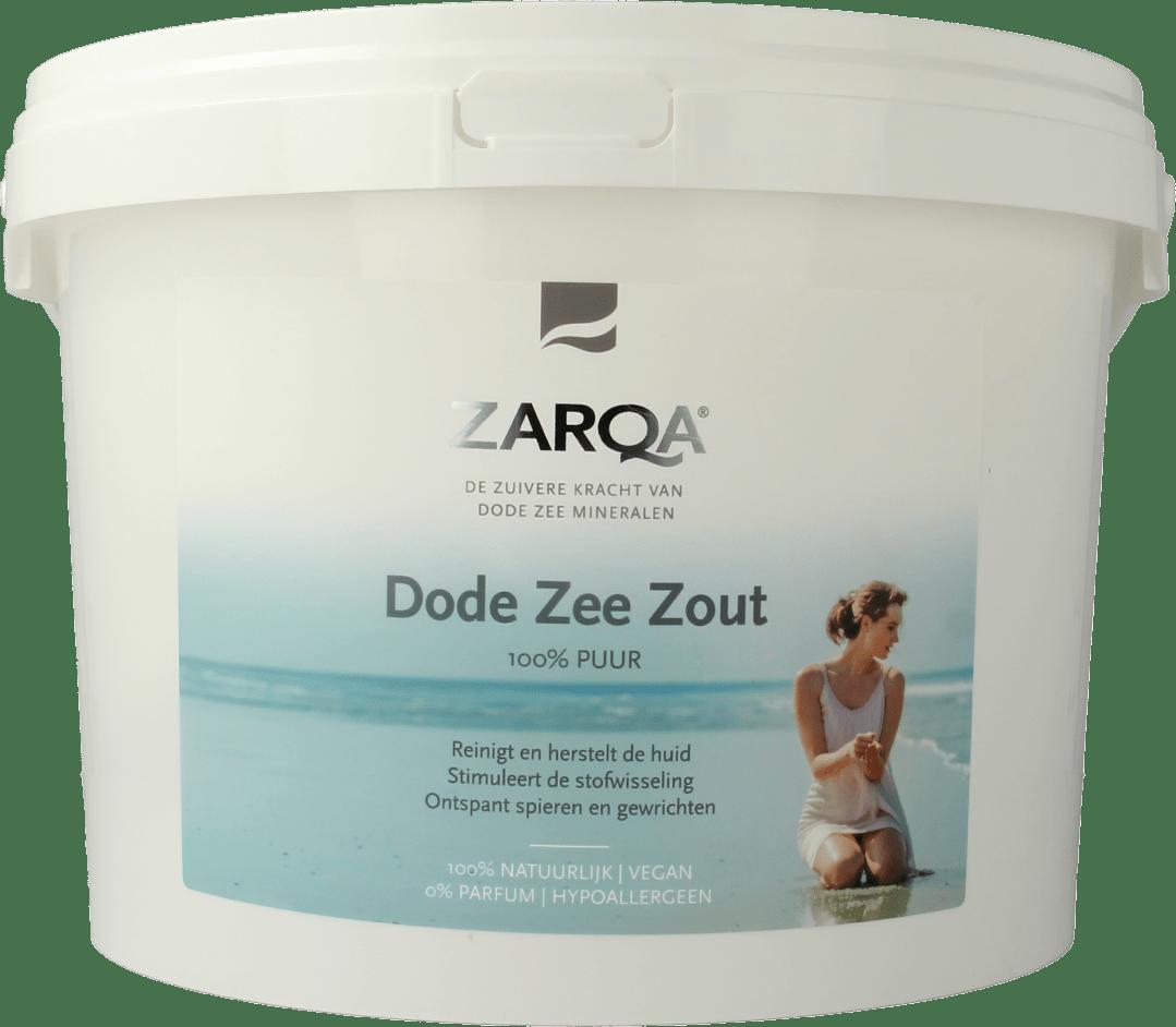 ZARQA 100% Pure Dead Sea Salt emmer