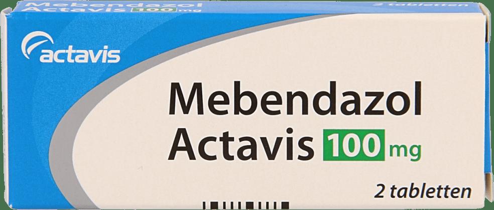 Actavis Mebendazol 100mg tabletten