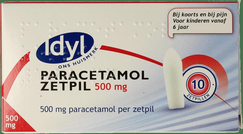 IDYL Paracetamol Zetpil 500 mg