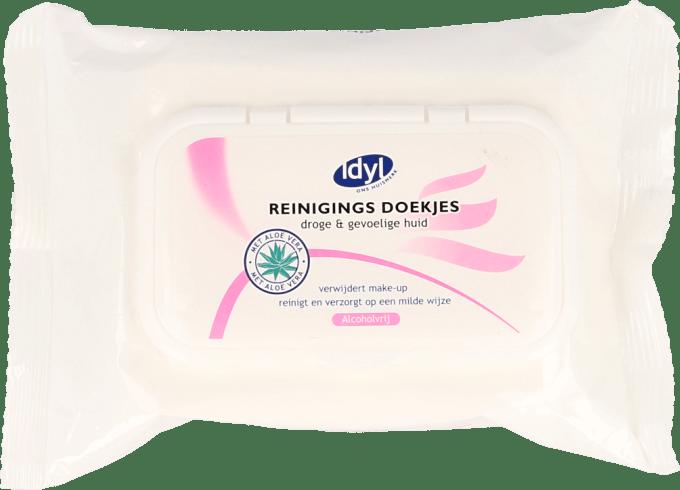 Idyl Reinigingsdoekjes droge & gevoelige huid