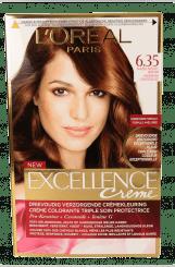 L'Oréal Paris Excellence Crème – 6.35 Hazelnootbruin