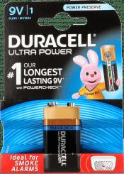 Duracell Batterij Long Lasting  9V
