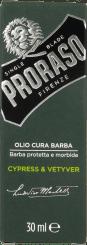 Proraso Baard Olie Cypress & Vetyver