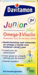 Davitamon Junior Plus Omega-3 Visolie