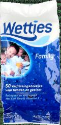 Wetties Familiy Verfrissingsdoekjes