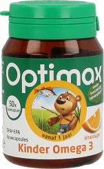 Optimax Kinder Omega 3 Kauwcapsule