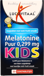 Lucovitaal Melatonine Puur 0,299mg KIDS