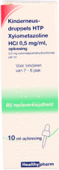 Healthypharm Neusdruppels Kind Xylometazoline  0.5 mg/ml