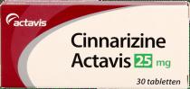 Sanias Cinnarizine 25mg