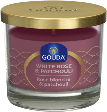 Gouda Geurkaars in Glas 92/103 White Rose and Patchouli