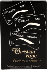 Christian Faye Eyebrow Stencil set SPA