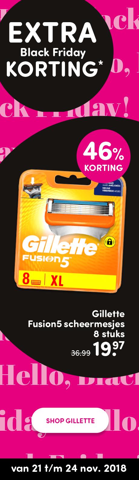 Gillette Scheermesjes Fusion Manual 8 stuks