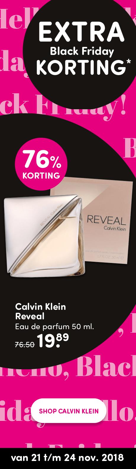 Calvin Klein reveal woman eau de parfum 50ml