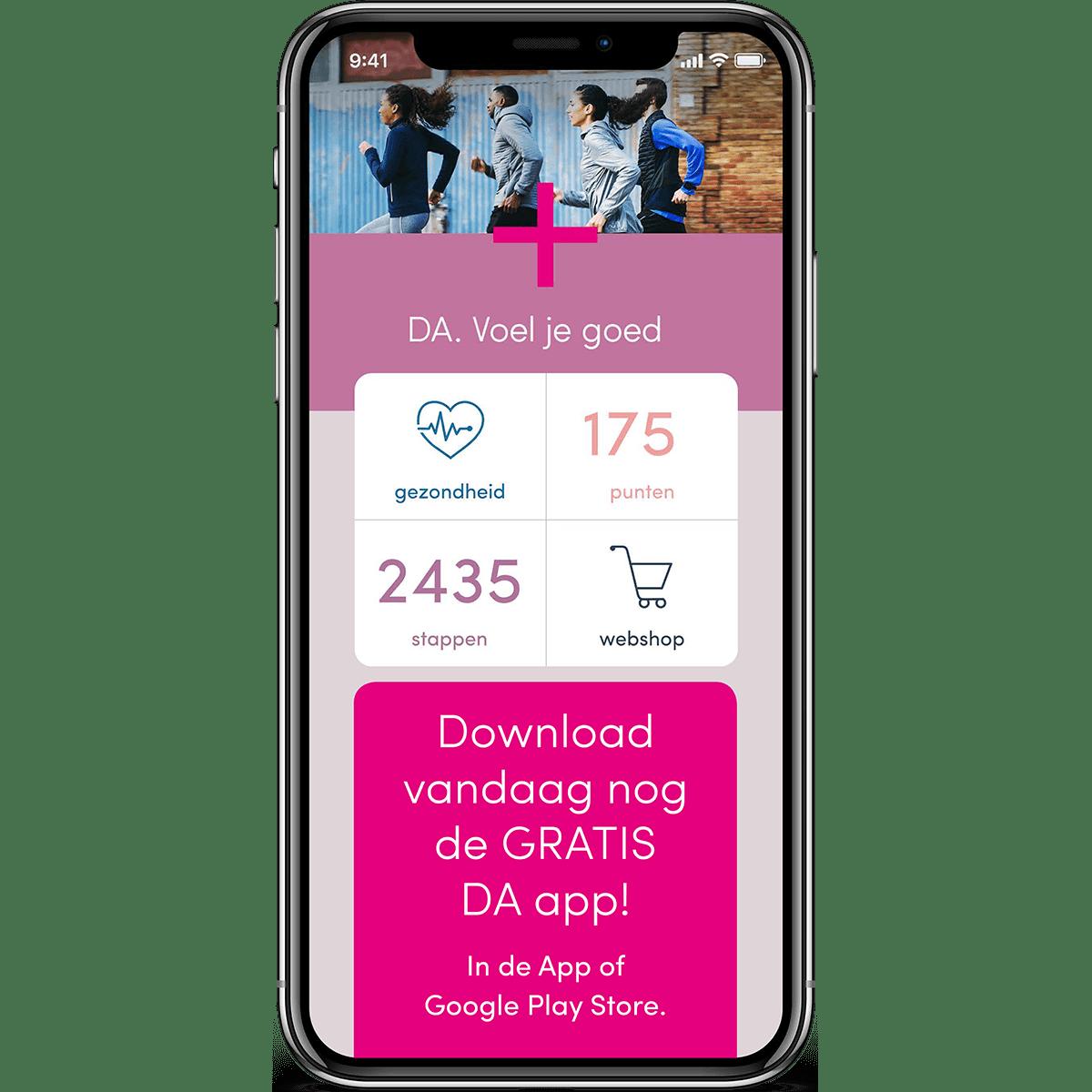 DA app