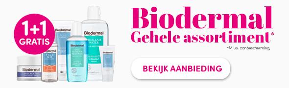 Promotie Biodermal 1+1 Gratis