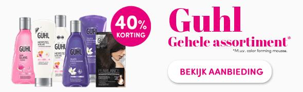 Promotie Guhl 40% korting