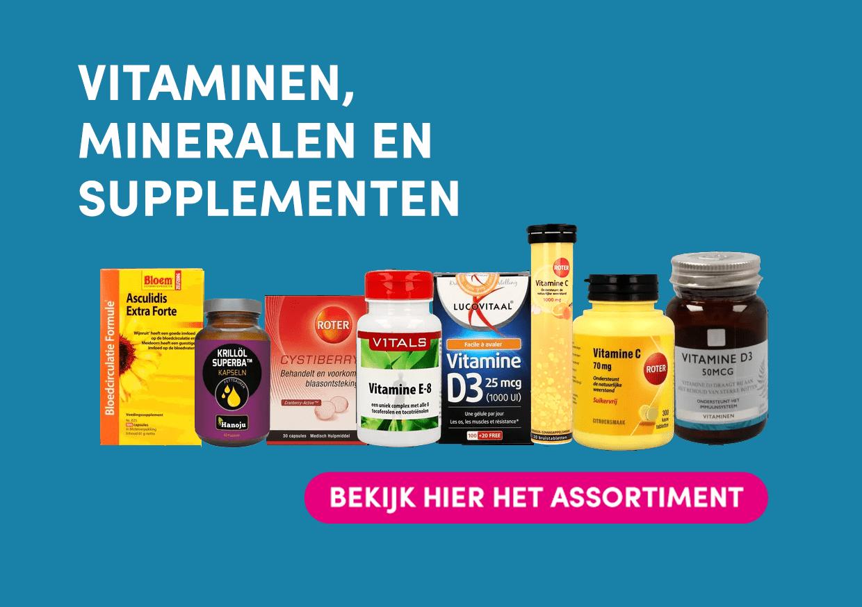 Vitaminen, Mineralen en Supplementen