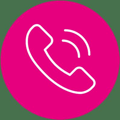 Logo telefonisch contact
